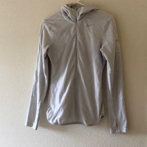 Light grey Nike running jacket